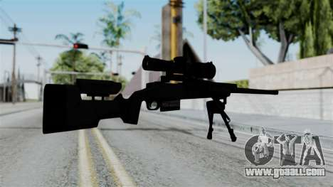 TAC-300 Sniper Rifle for GTA San Andreas second screenshot