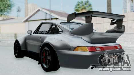 Porsche 911 GT2 Widebody 1995 NFS 2015 for GTA San Andreas left view