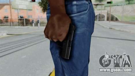 HK45 Black for GTA San Andreas third screenshot