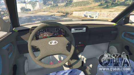 GTA 5 VAZ-21099 right side view
