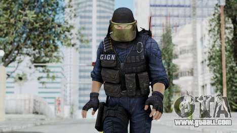GIGN 1 Masked from CSO2 for GTA San Andreas