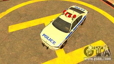 Bravado Buffalo Police Patrol [original wheels] for GTA 4 right view