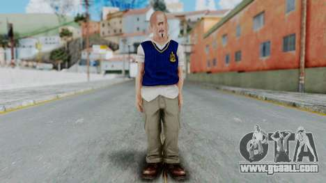 Bully Insanity Edition - Jimmy for GTA San Andreas second screenshot