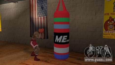 New Punching Bag for GTA San Andreas third screenshot