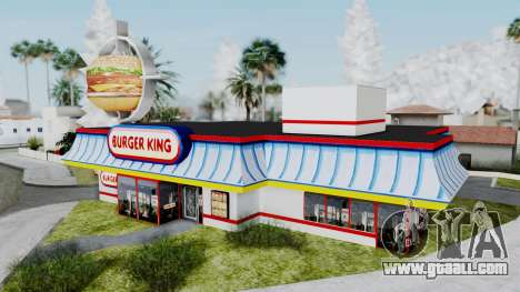 Burger King Texture for GTA San Andreas