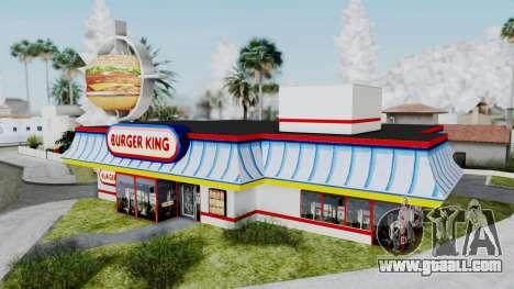 Burger King Texture for GTA San Andreas