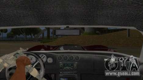 HD Banshee update for GTA San Andreas inner view