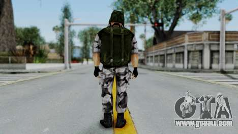 Shephard from Half-Life Opposing Force for GTA San Andreas third screenshot