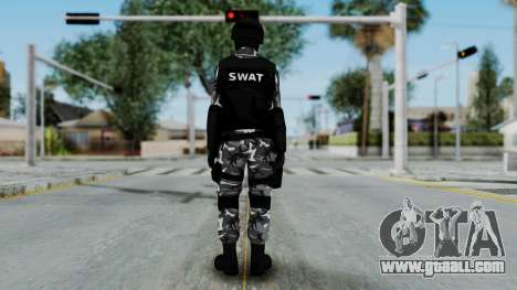 S.W.A.T v4 for GTA San Andreas third screenshot