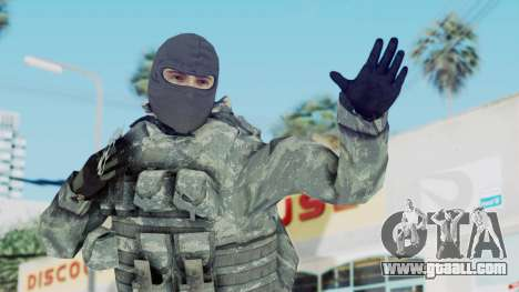 Acu Soldier 3 for GTA San Andreas