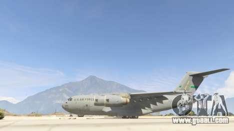 C-17A Globemaster III v.1.1 for GTA 5