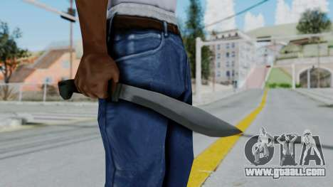 Vice City Knife for GTA San Andreas third screenshot