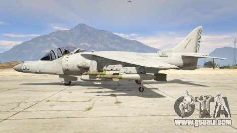 GTA 5 McDonnell Douglas AV-8B Harrier II second screenshot