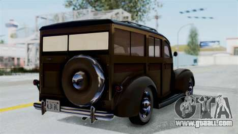 Lincoln Continental 1942 Mafia 2 v1 for GTA San Andreas left view