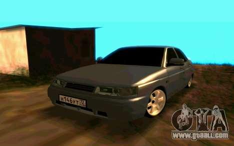 VAZ 2110 v.2.0 for GTA San Andreas