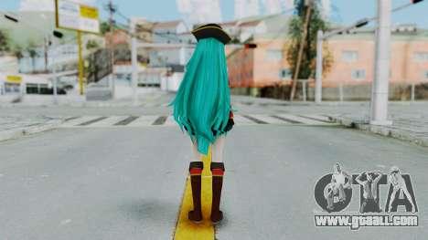 Hatsune Miku (Pirete) for GTA San Andreas third screenshot