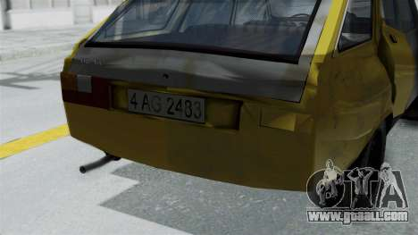 Dacia 1325 Liberta Rusty for GTA San Andreas right view