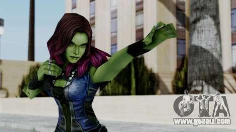 Marvel Future Fight - Gamora for GTA San Andreas