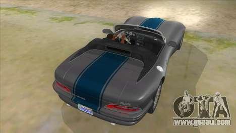 HD Banshee update for GTA San Andreas bottom view