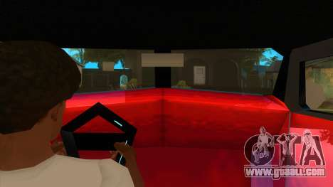 GTA LCS Thunder-Rodd for GTA San Andreas inner view