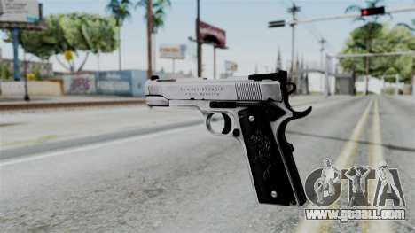 For-h Gangsta13 Pistol for GTA San Andreas second screenshot