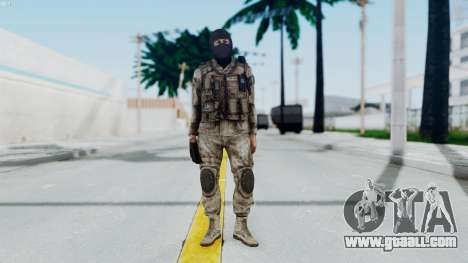 Crysis 2 US Soldier 8 Bodygroup A for GTA San Andreas second screenshot