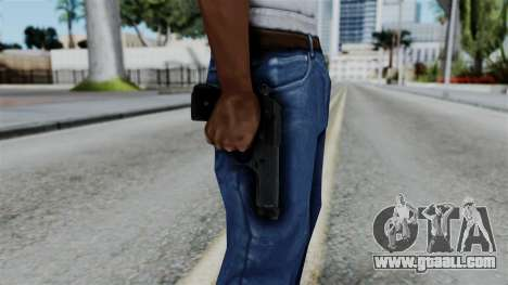 No More Room in Hell - Beretta 92FS for GTA San Andreas third screenshot