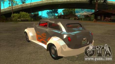GTA LCS Thunder-Rodd for GTA San Andreas back left view