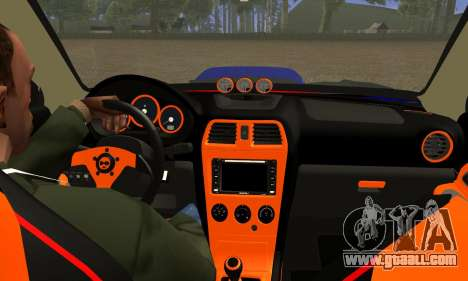 Subaru Impreza WRX STI Lisa for GTA San Andreas inner view