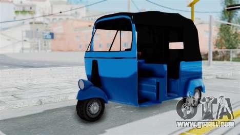 Sri Lanka Three Wheeler (Rickshow) for GTA San Andreas