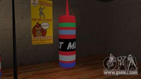New Punching Bag for GTA San Andreas second screenshot