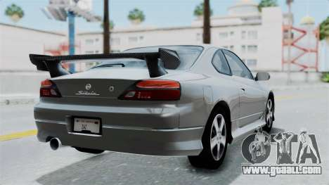 Nissan Silvia S15 Spec-R 2000 for GTA San Andreas left view