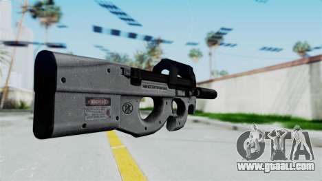 P90 Grey for GTA San Andreas second screenshot