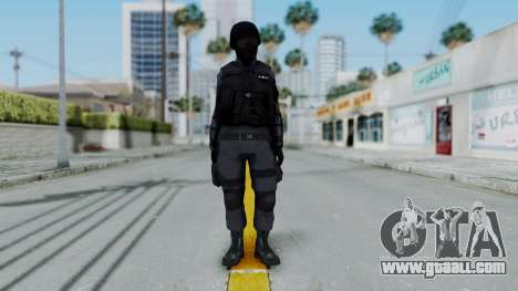 S.W.A.T v2 for GTA San Andreas second screenshot