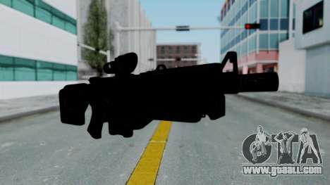 Kusanagi ACR-10 Assault Rifle for GTA San Andreas second screenshot