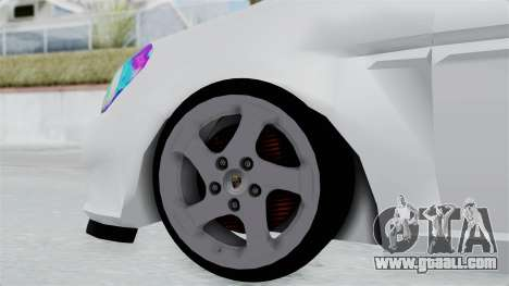 Hyundai Accent Essential Garage for GTA San Andreas back left view