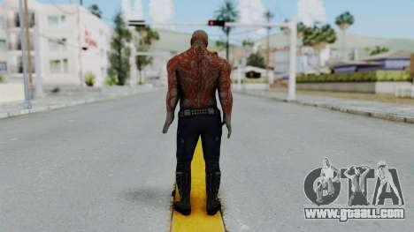 Marvel Heroes - Drax for GTA San Andreas third screenshot