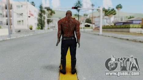 Marvel Heroes - Drax for GTA San Andreas third screenshot