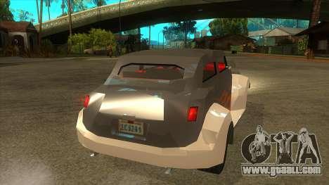 GTA LCS Thunder-Rodd for GTA San Andreas right view