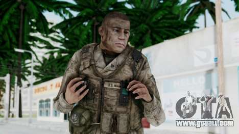 Crysis 2 US Soldier 6 Bodygroup A for GTA San Andreas