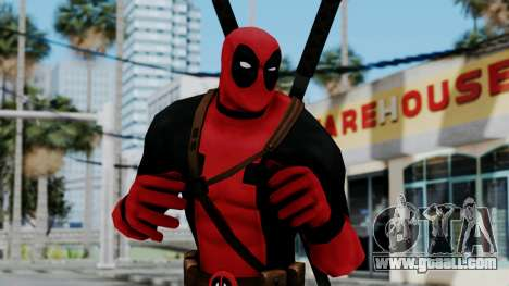 Marvel Heroes - Deadpool for GTA San Andreas