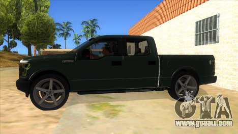 Ford F-150 2015 for GTA San Andreas left view