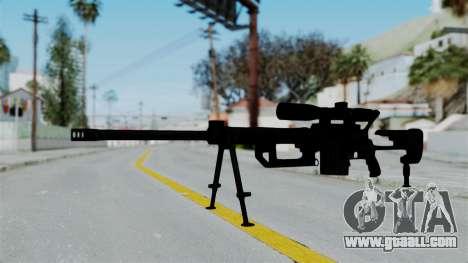 M2000 CheyTac Intervention for GTA San Andreas second screenshot