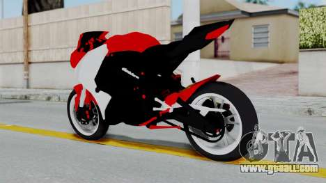 Yamaha YZF-R25 YoungMachine Concept for GTA San Andreas left view