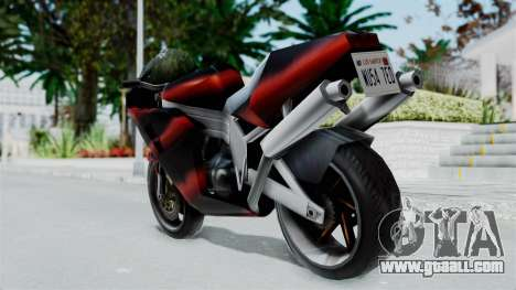 FCR-900 Custom for GTA San Andreas left view