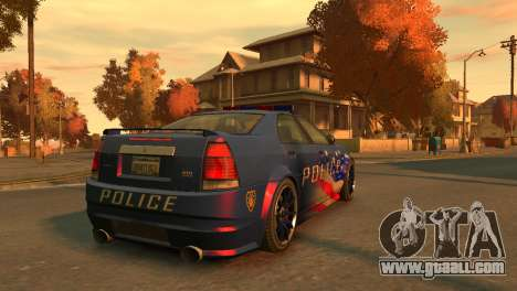 Albany Police Stinger for GTA 4 back left view
