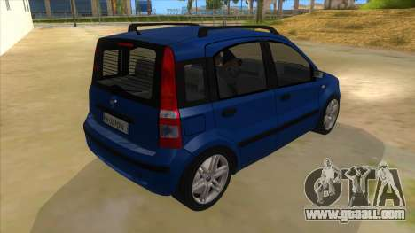 Fiat Panda V3 for GTA San Andreas right view