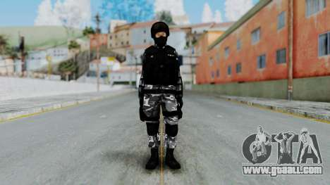S.W.A.T v4 for GTA San Andreas second screenshot