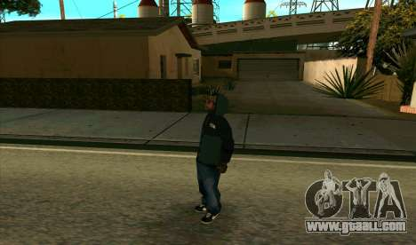 BALLAS1 for GTA San Andreas second screenshot