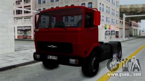 FAP Kamion Stock for GTA San Andreas